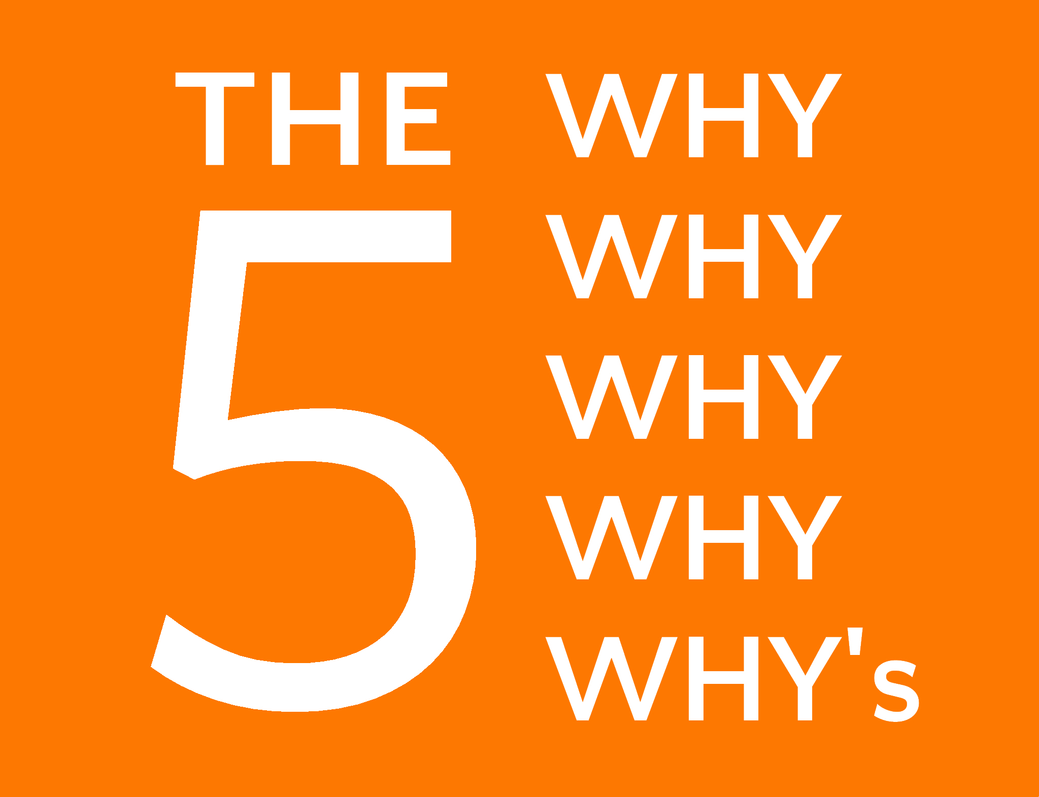 Using the Five Why Technique in Sales - Think Listen Learn