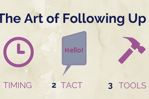 The Art and Craft of Following Up