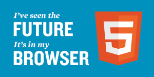 The Next Step Towards The Future, HTML5